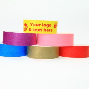 19mm One Colour Printed Custom Wristbands