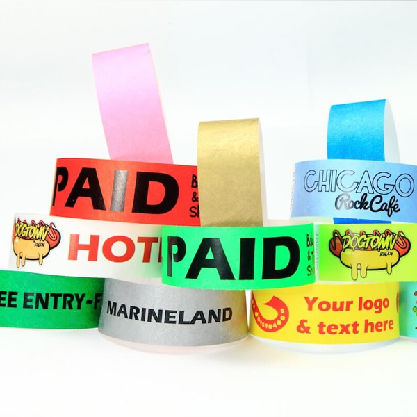 Full Colour Printed Wristbands 25mm